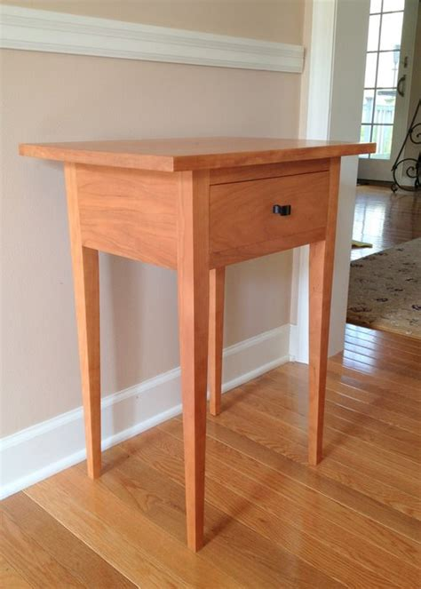 shaker style end table small shaker style end table in cherry by jamesjmcfadden