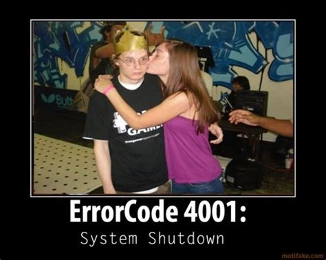 Funny Geek Geek 4001 Major Error Overload Geek Porn - funny geek geek 4001 major error overload geek porn