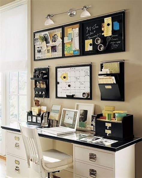 Home Office Desk Organization Ideas with 20 Creative Home Office Organizing Ideas Hative