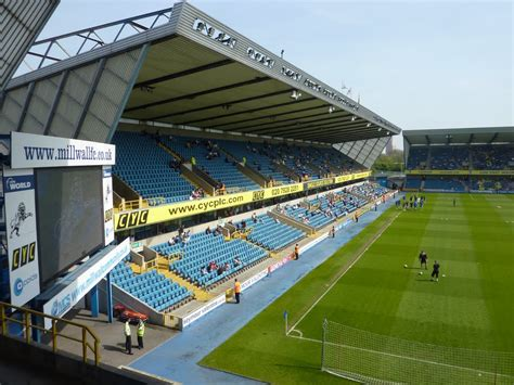 the den panoramio photo of the new den home of millwall football club