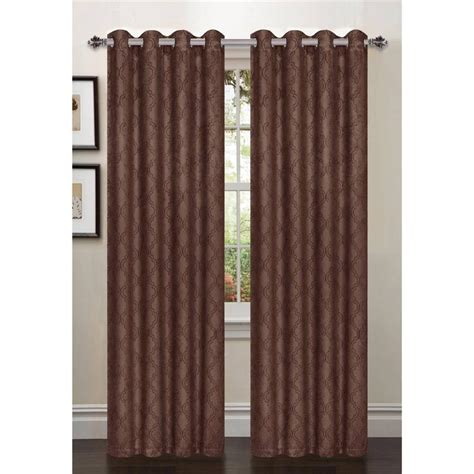 54 curtain panels 1 pcpatterned blackout curtains 54 quot w x 84 quot l taupe