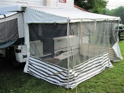 rv awning tent 25 best ideas about popup cer remodel on pinterest