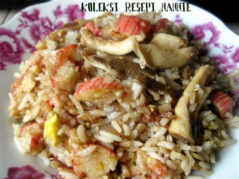 resepi membuat nasi goreng kung resepi nennie khuzaifah nasi goreng cendawan