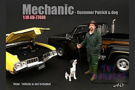 American Diorama 118 Mechanic american diorama figurine mechanic customer