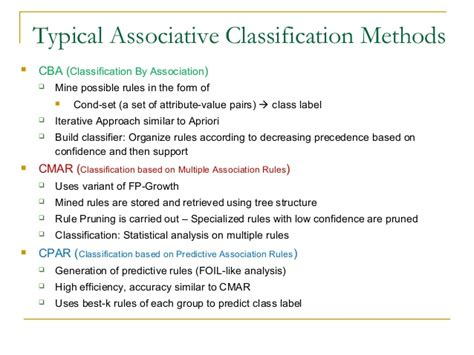 pattern classification techniques based on function approximation 2 6 support vector machines and associative classifiers