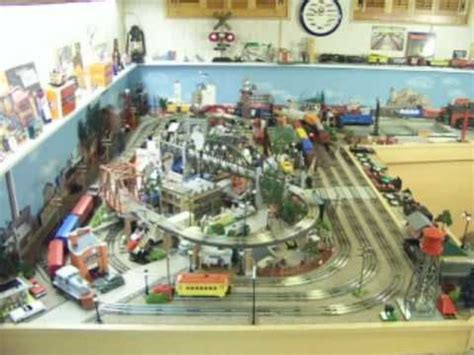 lionel layout youtube lionel postwar 027 layout part 1 of 3 youtube