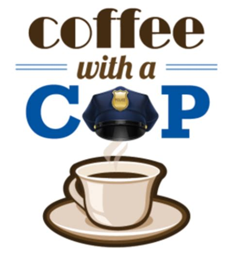 With A coffee with a cop supervisor hilda l solis