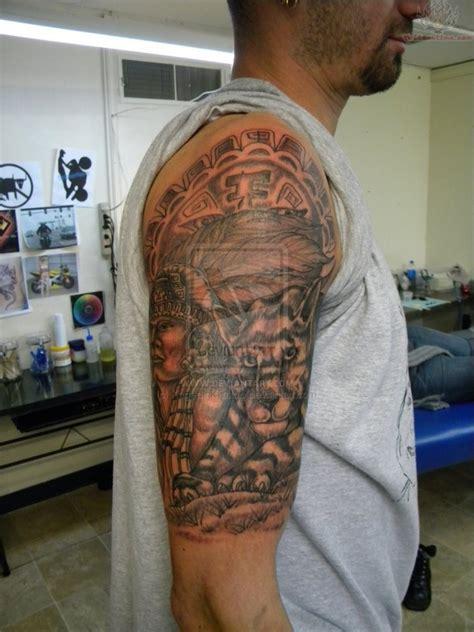 tattoos for black men on arm black ink half sleeve design for tattoos book