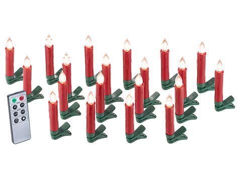 led weinachtsbaum kerzen bewegt lunartec weihnachts deko 20er set led weihnachtsbaum kerzen mit ir fernbedienung rot