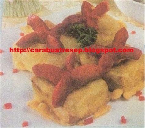 membuat sosis tahu goreng resep masakan indonesia