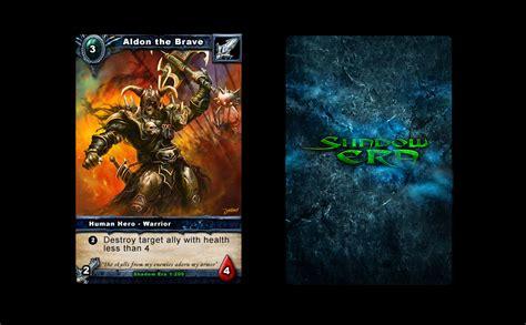design game board software shadow era card game game ui design freelancer antonw