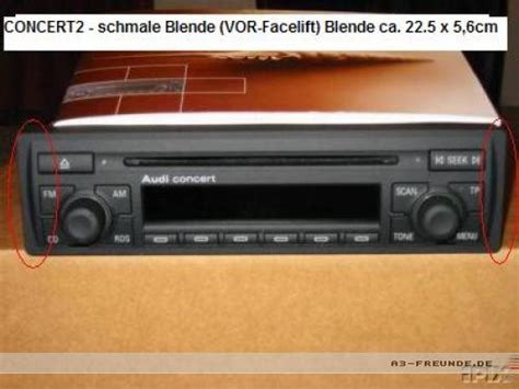 Audi Concert Radio Manual by Concert Replacement To Concert Ii