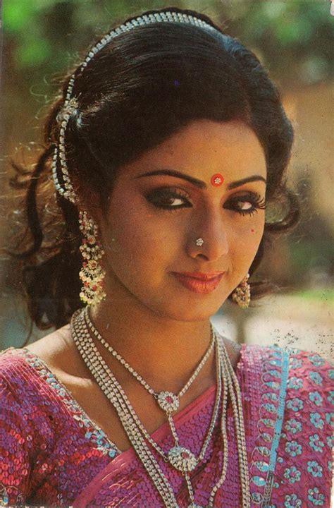 sridevi old sridevi sari