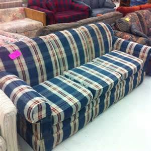 blue plaid sofa blue and beige plaid flickr photo
