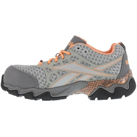 Reebok Beamer Safety Shoes reebok beamer womens composite toe athletic work shoe rb060