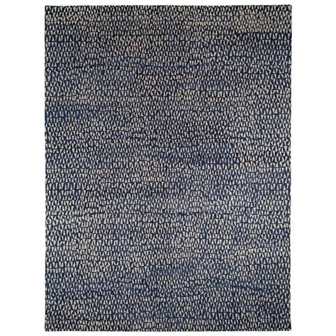 Blue And White Rugs For Sale Blue And White Wool Area Rug With Geometric Pattern For