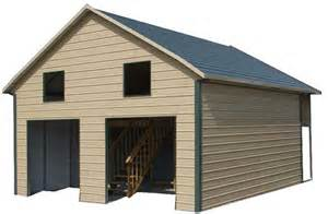 steel buildings with lofts for living quarters