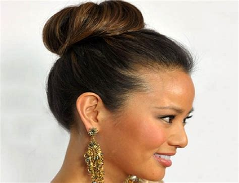 hair style interlok bun bridal bun hairstyles she said