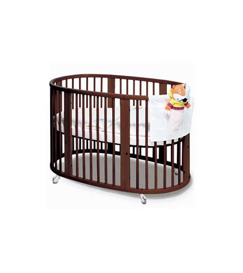 stokke sleepi crib in walnut