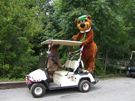 golf cart rentals rent  golf cart  jellystone park
