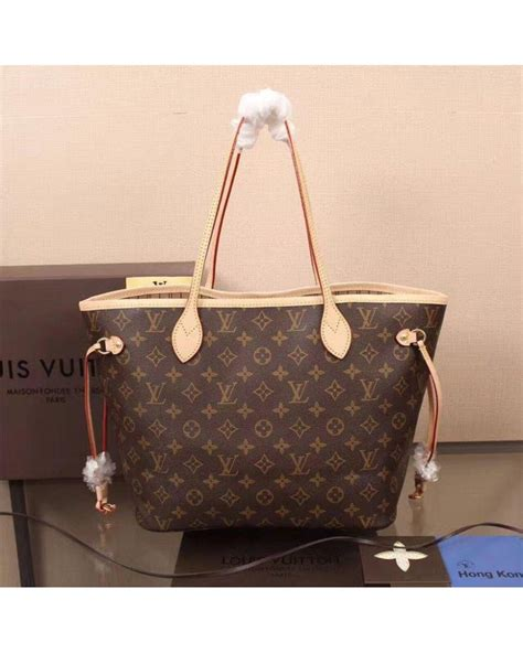 Louis Vuitton 2 In 1 aaa grade louis vuitton bag lv neverfull 2 in 1