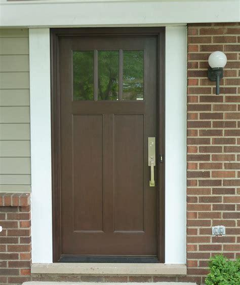 Brown Front Door Front Doors Inspirations Brown Front Door 134 Front Door Colors With Brown Windows Exterior