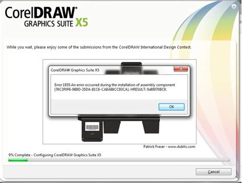 corel draw x5 not installing windows 7 error during corel draw graphic suite x5 installation