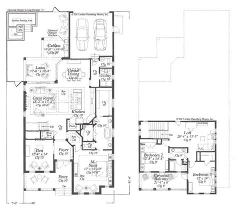 parade of homes floor plans 2014 flagler parade of homes l arthur rutenberg homes