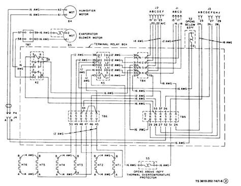 figure 1 6 air conditioner wiring diagram sheet 2 of 3
