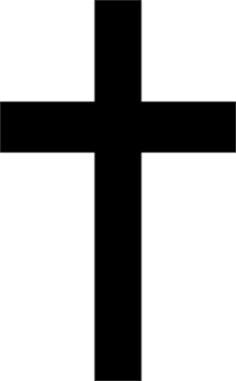 solid black cross tattoo cross clip at clker vector clip