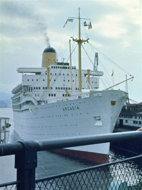 boat shipping vancouver file p o ship ss arcadia docked in vancouver in 1974 jpg