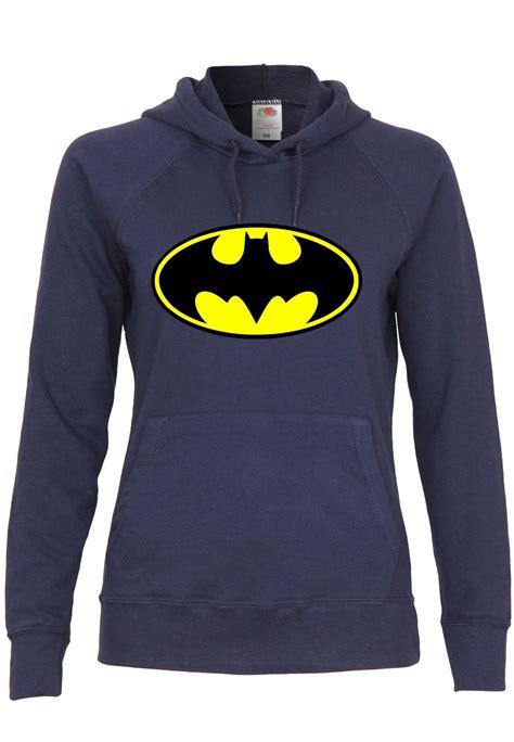 Mutif M120 m120 f435 damen kapuzen sweatshirt hoodie mit motiv batman