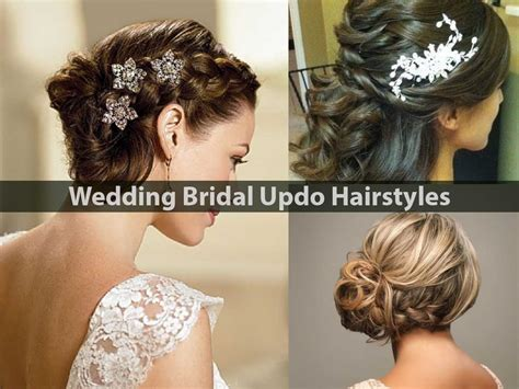 Bridal Updo Hairstyles by Best Bridal Wedding Half Up And Half Hairstyle
