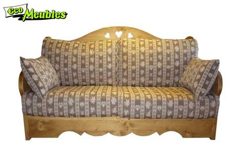 canapé convertible style montagne eco meubles jean de sixt meuble style montagne