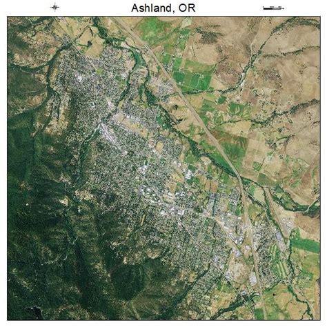 where is ashland oregon on a map aerial photography map of ashland or oregon