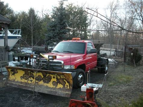 sell   dodge ram   flat deck trailer