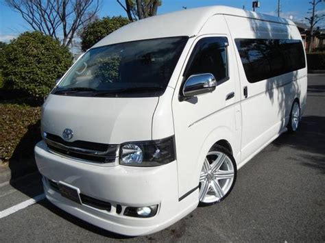 Toyota Tuning Companies Toyota Hiace Commuter Bus 16 Seats White Color Id 6215302