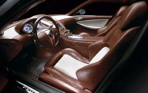 Brown Leather Interior Car by Peugeot 907 V12 To Thrill At Goodwood Festival Of Speed