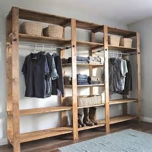 Wood Storage Closets For Clothes 17 Best Ideas About Open Closets On Open