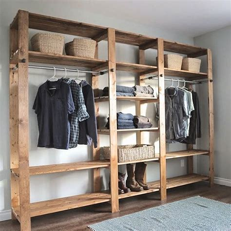 Open Closet Systems Best 25 Free Standing Wardrobe Ideas On