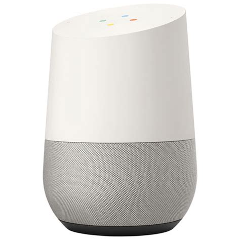 google home google home white slate voice assistants best buy canada