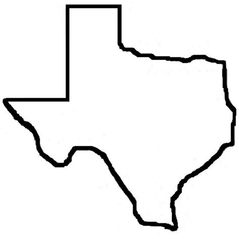 texas state outline map best 25 texas outline ideas on outline of texas state of texas map and texas
