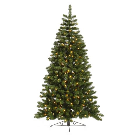 12 foot grand teton half christmas tree warm white led