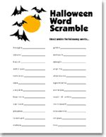 free printable halloween word games for adults halloween jumble puzzles halloween worksheet