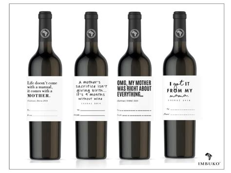 Wine Mba Hk by Personalized Wine Gift This S Day From Imbuko Wines