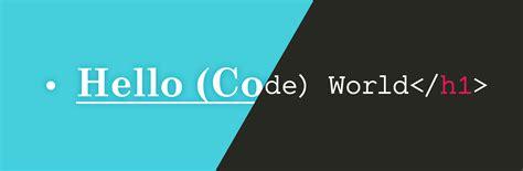 design code hello code world
