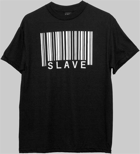 Tshirt Impslave barcode t shirt by barcodeart on etsy