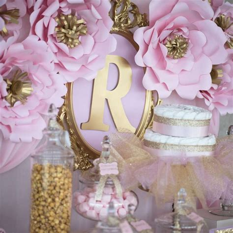 princess theme baby shower decoration ideas princess baby shower ideas baby shower