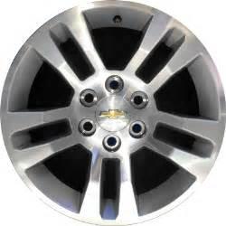 chevrolet silverado 1500 wheels rims wheel stock oem