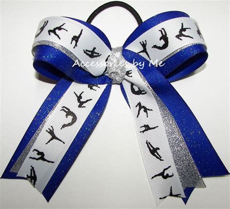 ribbon for hair that says gymnastics 17 best images about gymnastics bows on pinterest